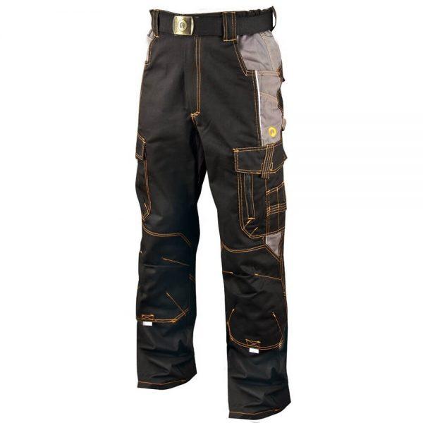 Spodnie do pasa Vision szaro czarne