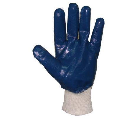 Rękawice nitrylowe ze ściągaczem