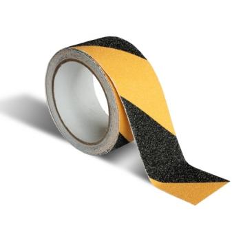 Taśma przeciwpoślizgowa samoprzylepna żółto-czarna