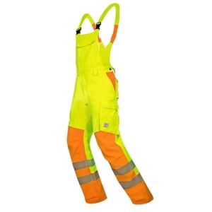 Spodnie ogrodniczki SIGNAL – żółty