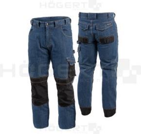 Spodnie robocze jeansowe.
